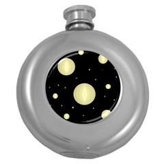 Lanterns Round Hip Flask (5 oz)