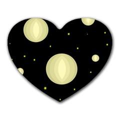 Lanterns Heart Mousepads