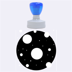 Lanterns Rubber Round Stamps (Large)