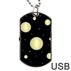 Lanterns Dog Tag USB Flash (One Side)