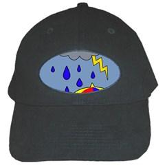 Rainy day Black Cap