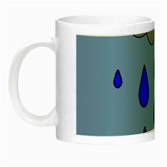 Rainy day Night Luminous Mugs