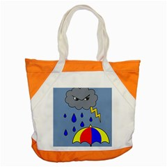 Rainy Day Accent Tote Bag