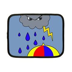 Rainy day Netbook Case (Small)