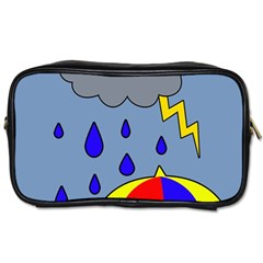 Rainy day Toiletries Bags 2-Side