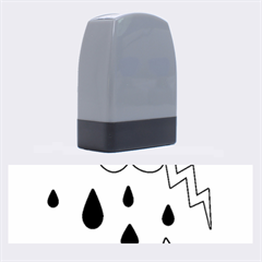 Rainy Day Name Stamps