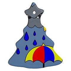 Rainy day Ornament (Christmas Tree)