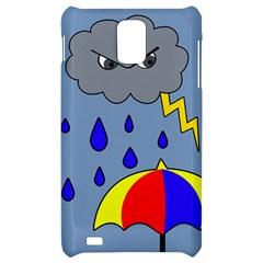 Rainy day Samsung Infuse 4G Hardshell Case
