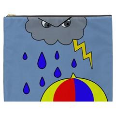 Rainy day Cosmetic Bag (XXXL)