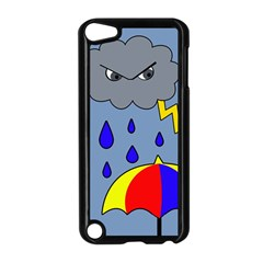 Rainy day Apple iPod Touch 5 Case (Black)