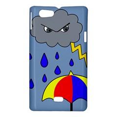 Rainy day Sony Xperia Miro