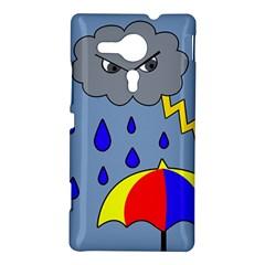 Rainy day Sony Xperia SP