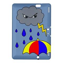Rainy day Kindle Fire HDX 8.9  Hardshell Case