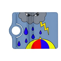 Rainy day Kindle Fire HD (2013) Flip 360 Case