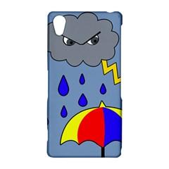 Rainy day Sony Xperia Z2