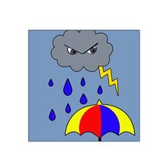 Rainy day Satin Bandana Scarf