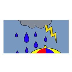 Rainy day Satin Shawl