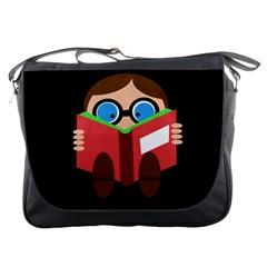 Brainiac  Messenger Bags