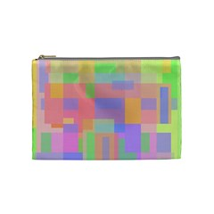 Pastel decorative design Cosmetic Bag (Medium)