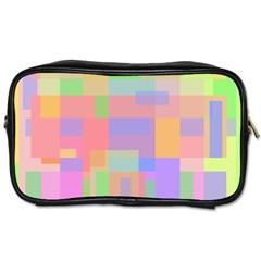 Pastel decorative design Toiletries Bags 2-Side