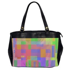Pastel decorative design Office Handbags