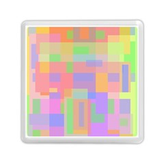 Pastel decorative design Memory Card Reader (Square)