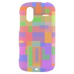 Pastel decorative design HTC Amaze 4G Hardshell Case