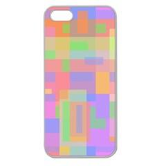 Pastel decorative design Apple Seamless iPhone 5 Case (Clear)