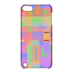 Pastel decorative design Apple iPod Touch 5 Hardshell Case with Stand