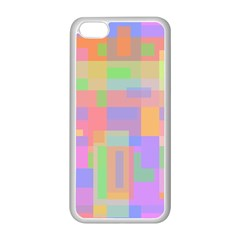 Pastel decorative design Apple iPhone 5C Seamless Case (White)