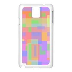 Pastel decorative design Samsung Galaxy Note 3 N9005 Case (White)