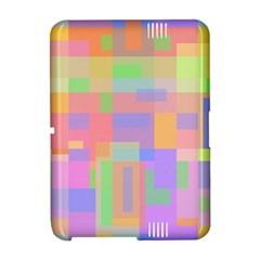 Pastel decorative design Amazon Kindle Fire (2012) Hardshell Case