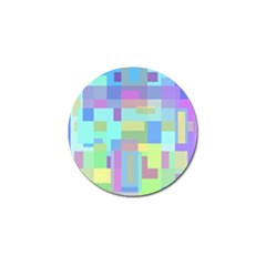 Pastel geometrical desing Golf Ball Marker (4 pack)