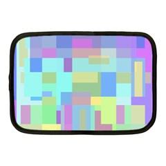 Pastel geometrical desing Netbook Case (Medium)
