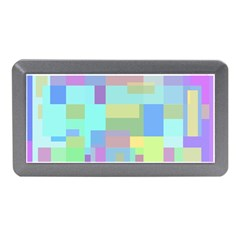 Pastel geometrical desing Memory Card Reader (Mini)