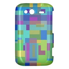 Pastel geometrical desing HTC Wildfire S A510e Hardshell Case