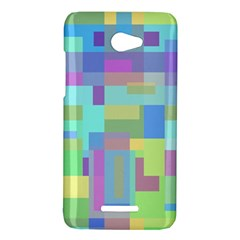 Pastel geometrical desing HTC Butterfly X920E Hardshell Case