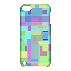 Pastel geometrical desing Apple iPod Touch 5 Hardshell Case with Stand
