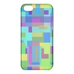 Pastel geometrical desing Apple iPhone 5C Hardshell Case