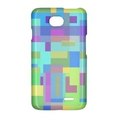Pastel geometrical desing LG Optimus L70