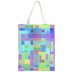 Pastel geometrical desing Classic Light Tote Bag