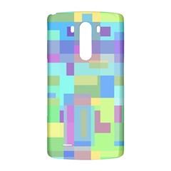 Pastel geometrical desing LG G3 Back Case