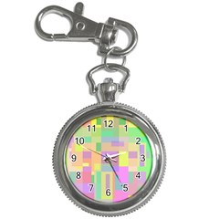 Pastel colorful design Key Chain Watches