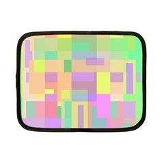 Pastel colorful design Netbook Case (Small)