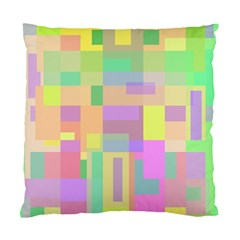 Pastel colorful design Standard Cushion Case (One Side)