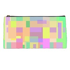 Pastel colorful design Pencil Cases