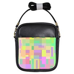 Pastel colorful design Girls Sling Bags