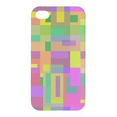 Pastel colorful design Apple iPhone 4/4S Hardshell Case