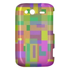 Pastel colorful design HTC Wildfire S A510e Hardshell Case