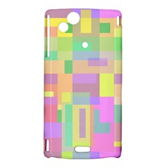 Pastel colorful design Sony Xperia Arc